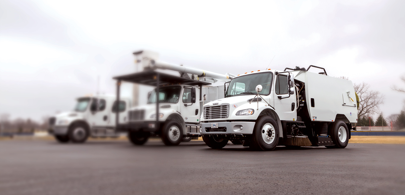 Freightliner 106 MD Sweeper