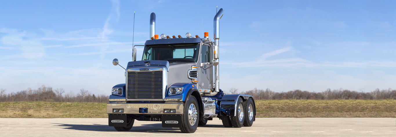 Volvo Truck Parts >> The Severe-Duty 122SD Truck/Tractor | Freightliner Trucks