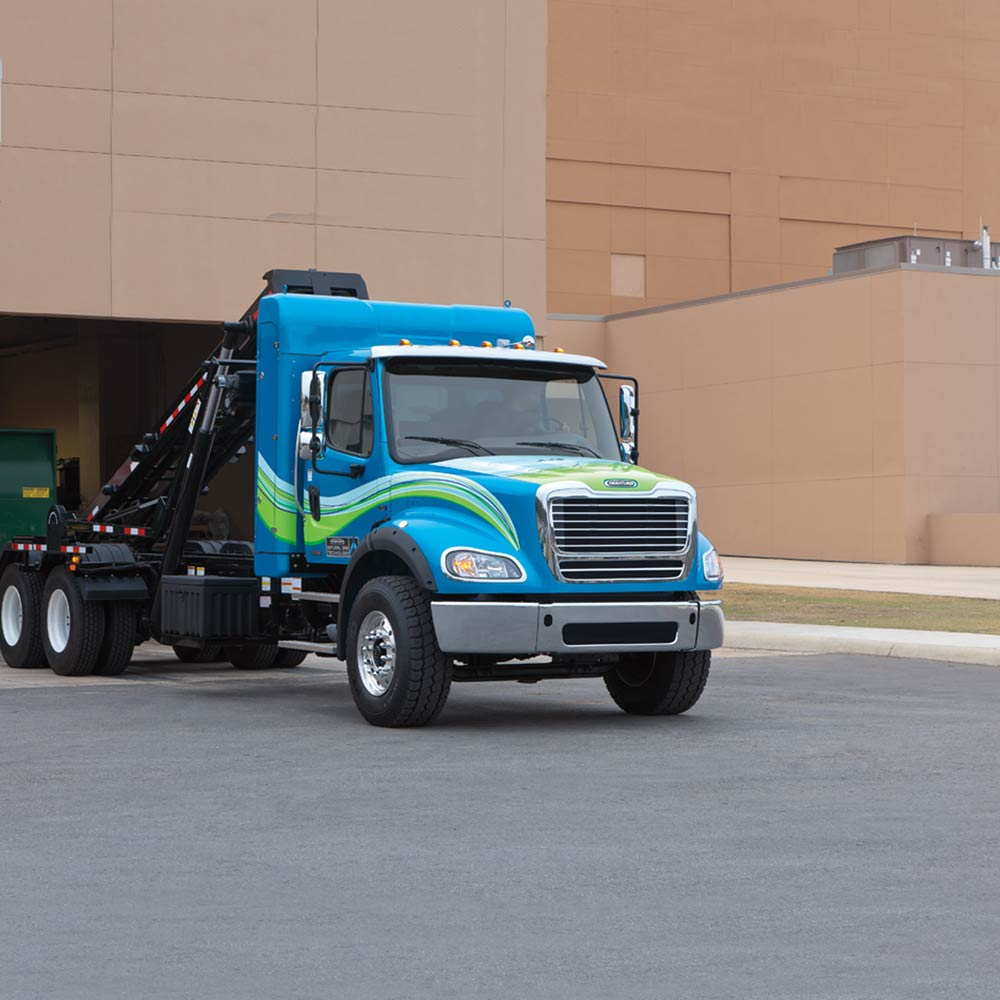 Freightliner Green Blue