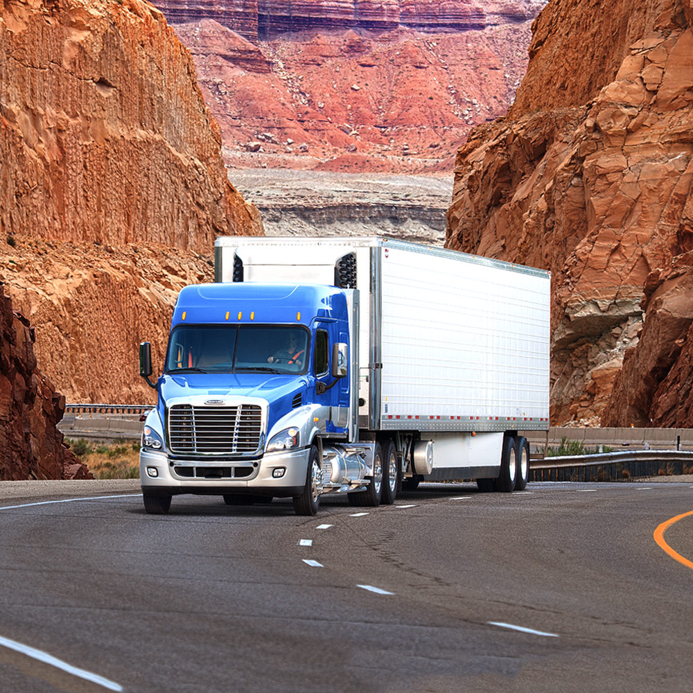 Freightliner Cascadia Evolution in Sedona