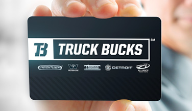 Truck Bucks Card Thumb