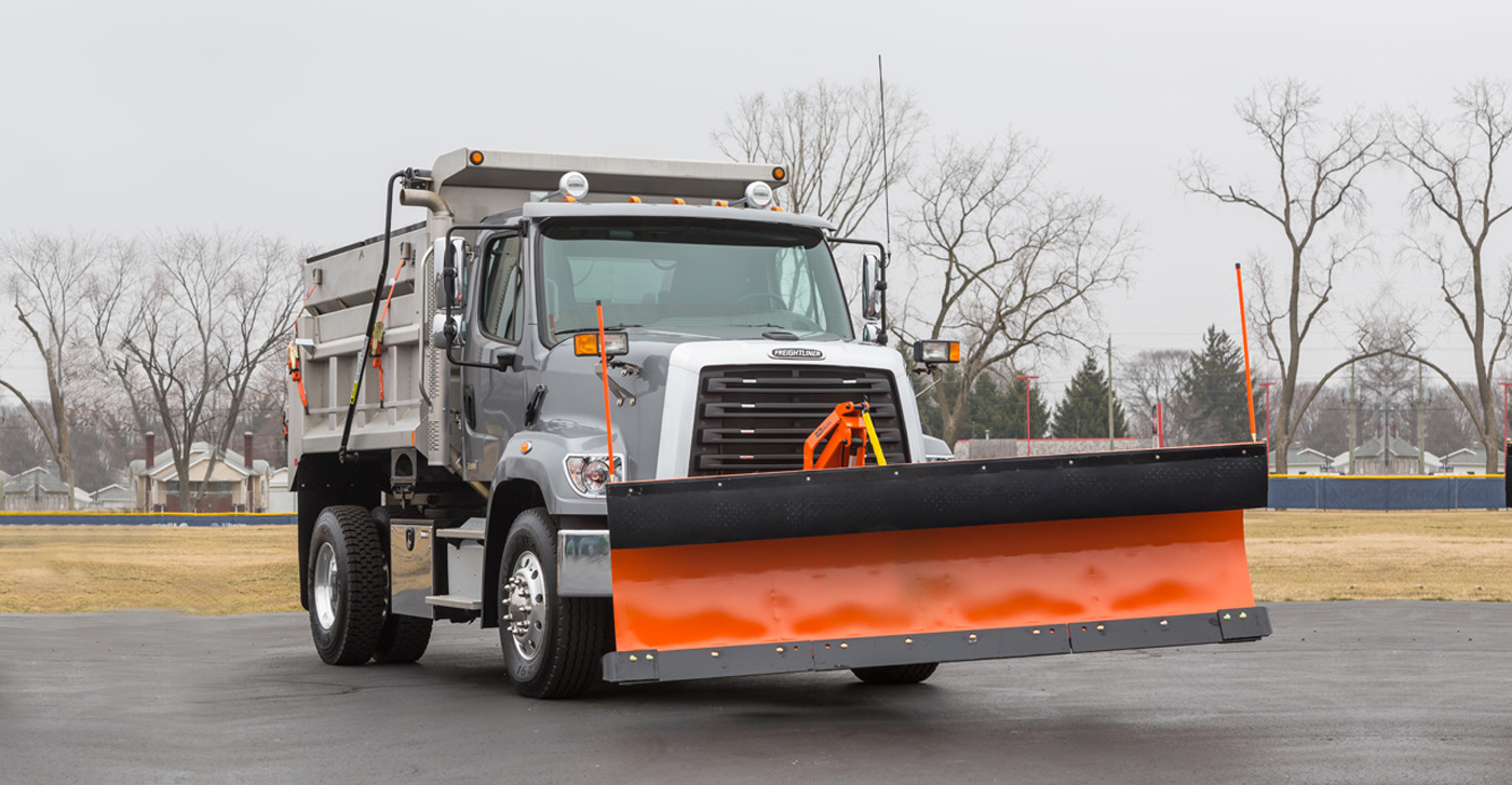 Freightliner with Plow
