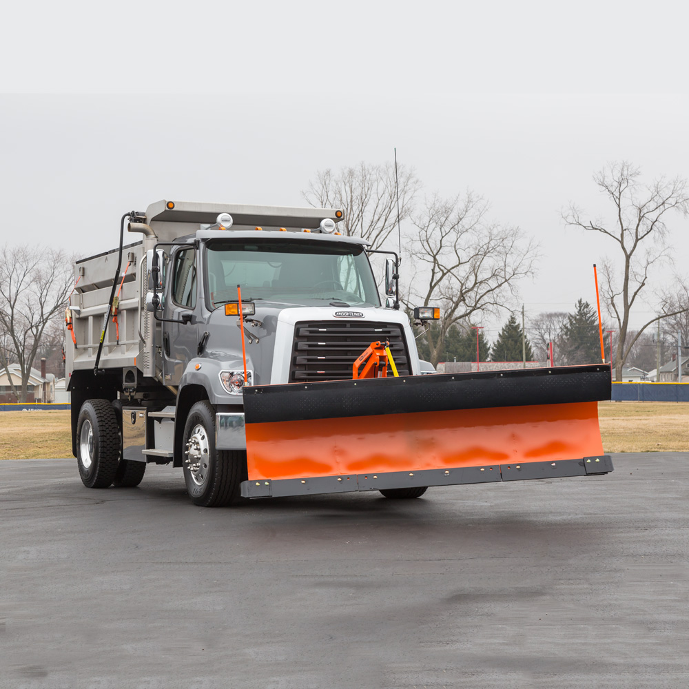 Freightliner 108SD Snow Plow