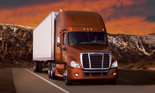 Freightliner Cascadia Temperature Controlled V6