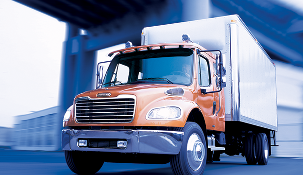 The Freightliner M2 106 is now available with a new engine from Detroit: the DD5.