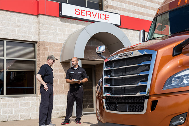 Service for the life of your freightliner truck freightliner trucks detroit service fandeluxe Gallery